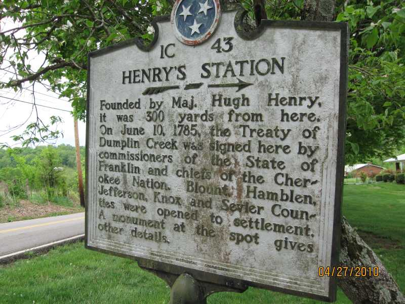 tennessee historical markers